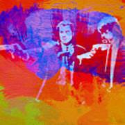 Pulp Fiction 2 Art Print by Naxart Studio