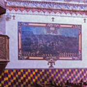 Pulpit San Xavier Mission - Tucson Arizona Art Print