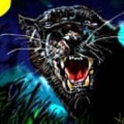 Pumpernickel Puma Art Print