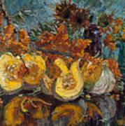 Pumpkin And Sea Buckthorn  Art Print