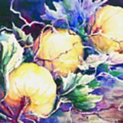 Pumpkin Time Art Print