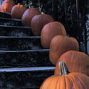 Pumpkins - Halloween Art Print