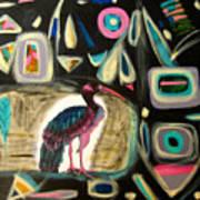 Puna Ibis Art Print