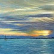 Punta Gorda Florida Art Art Print