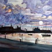 Punta Gorda Sunset Art Print