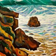 Punta Rincon Art Print
