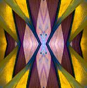 Pure Gold Lincoln Park Wood Pavilion N89 V1 Art Print