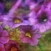 Purple And Yellow Morning 9121 Idp_2 Art Print