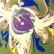 Purple Calla Lilly Art Print
