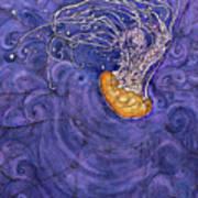 Purple Calm Art Print