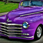Purple Cruise Art Print