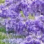 Purple Impression  Art Print