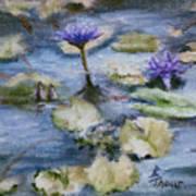 Purple Lily Art Print