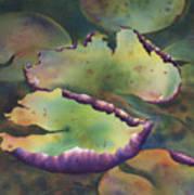 Purple Linings I Art Print