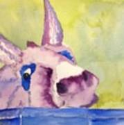Purple Mule Art Print