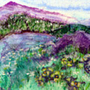 Purple Mountains Art Print