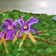 Purple Passion Art Print by Alanna Hug-McAnnally