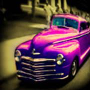 Purple Ride Art Print