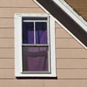 Purple Shade Composition Art Print