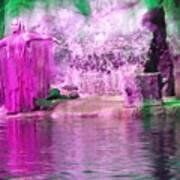 Purple Siren Art Print