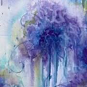 Purple Sofness Art Print