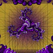 Purple Tripolar Art Print