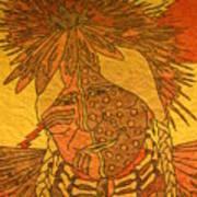 Purple Warrior Art Print by Austen Brauker