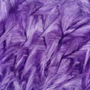 Purple Watercolor Art  Art Print