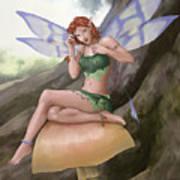 Purple Wings Art Print