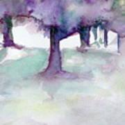 Purplescape II Art Print