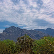 Pusch Ridge Morning H26 Art Print