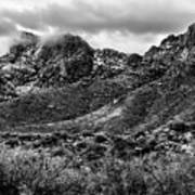 Pusch Ridge Snow No10 Art Print