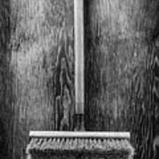 Push Broom Art Print