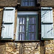 Puy L'eveque Window Art Print