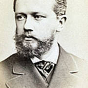 Pyotr Ilyich Tchaikovsky, Russian Art Print