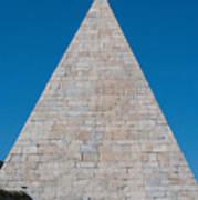Pyramid Of Caius Cestius Art Print