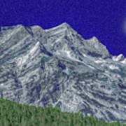 Pyrenees Astazous Mountain Art Print