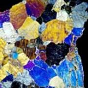 Pyroxenite Mineral, Light Micrograph Art Print