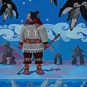 Qikiqtaaluk Whale Dreamer Art Print