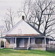 Quaker Meeting House Print by Tom Dorsz