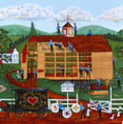 Quakers Acres Print by Joseph Holodook