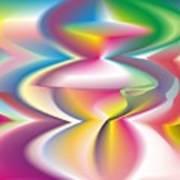 Quantum Landscape 3 Art Print