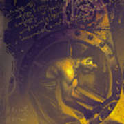 Quantum Mechanic Art Print