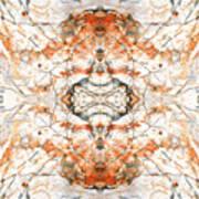 Quartz And Pyrite Art Print