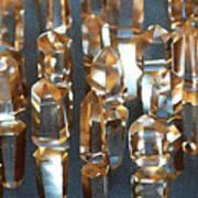 Quartz Crystal Collection Art Print