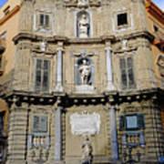 Quattro Canti In Palermo Sicily Art Print
