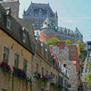 Quebec City 62 Art Print