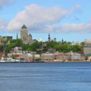 Quebec City Waterfront  6320 Art Print