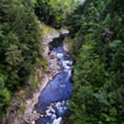 Quechee Gorge In Vermont Art Print