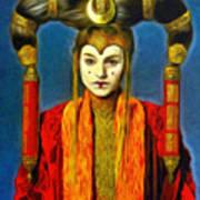 Queen Amidala Senate Costume Art Print